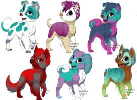 Cheap Feminine Puppy adopts by Bexgirl2803