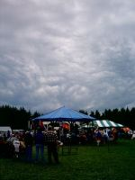 Clouds Over A Pow-Wow by Sparkus-Clark