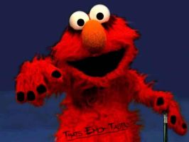 EMO ELMO by Untold-Imagination