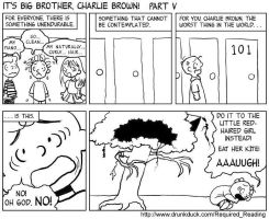It's 1984, Charlie Brown 5 by Thinston