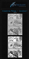 How to Clean Manga Pages by Yuah