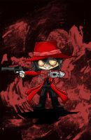 Chibi Alucard by ryster17