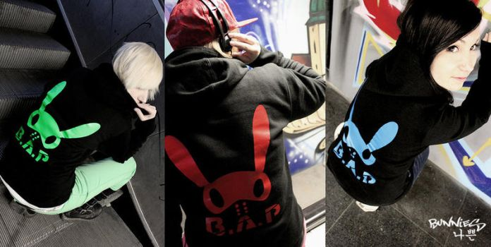 B.A.P style HOODIES by HJcosplay