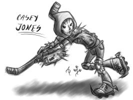 Casey Jones - the guy with the hockeymask by AR-ameth