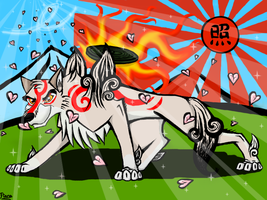 Okami Balto by Elana-Louise