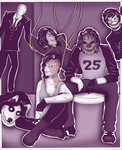 [CP and Slenderverse] chillin by Dav-Ink