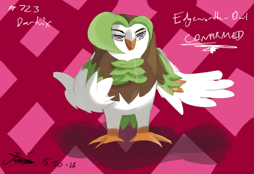..:.:: Edgeworth Owl ::.:.. by Hebigami-Okami-77