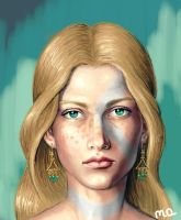 face of girl by l-gray-l