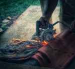 Cutting tile by micahgoulart