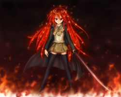 Shakugan no Shana Fan Art by ATOMixArt