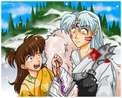 Skate with me, Sesshomaru-sama by irishgirl982