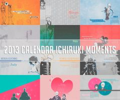 2013 Calendar IchiRuki Moments by Erian-7