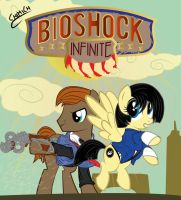 BioShock infinite MLP by chiimich