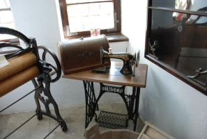 Old sewing maschine by LimeStock