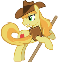 Rowing Braeburn by CheshireTwilight