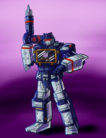 Soundwave - Decepticon Intelligence Officer by MedriFogmatio
