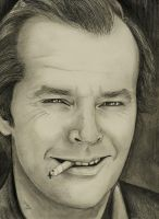 Jack Nicholson by georginaflood