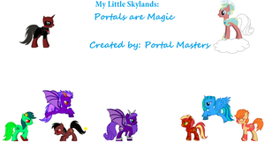 My Little Skylands: Portals are Magic by Pikachu1089