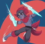 Icicle Crash by cyberill