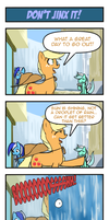 Pony 4 Koma - Don't Jinx it! by Reikomuffin