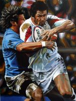 rugby painting by Jayz512