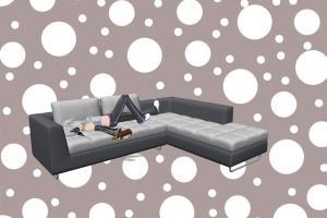 MMD - Realistic Sofa download by JJ-Panda-Chan