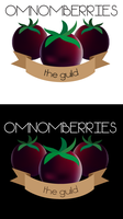 Omnomberries the Guild Wars 2 guild logo by niobe-pro