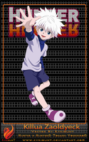 Killua Zaoldyeck 01 by Kyriount
