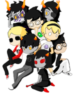 Homestuck Base by Wings101