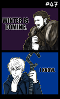 Winter is coming by mikaeriksenweiseth