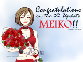 Welcome, MEIKO V3!! by gmLEN
