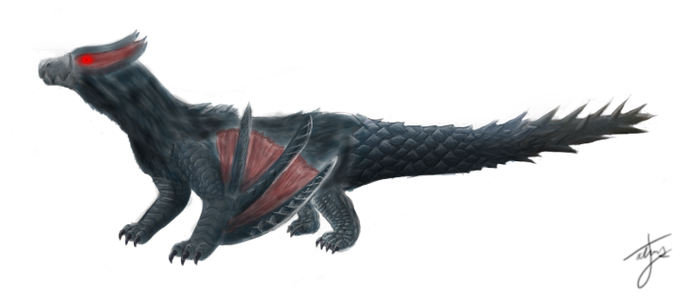 Monster Hunter - Nargacuga by Carnoraptor69