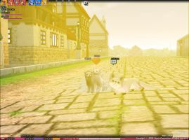 Mabinogi - Ferret Screenie by LumiTheWolf