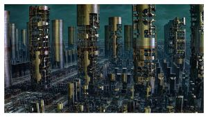 Refinery District II by eccoarts