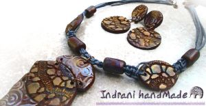 Necklace Merlins Charm 3 025 by indrani-handmade