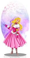 Winter Princess - Aurora by selinmarsou