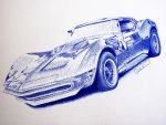 Dotted Corvette by smudlinka66