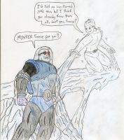 Iceman vs Mister Freeze by Jose-Ramiro