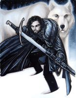 Jon Snow by AdamWithers