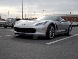 Corvette Z06 Supercharged by TheIndianTechie