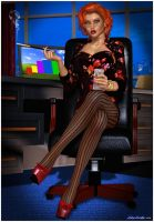 Business lady by mikemusike
