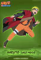 Naruto -Sage Mode- by alxnarutoall