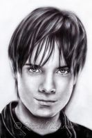 Thomas Dekker portrait by LinnetRose
