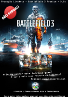 Flyer BattleField3 Linearts by iPauloDesigner