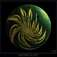 Blooming Planet by Brigitte-Fredensborg