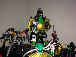 Power Rangers Toy Collection 033: Dragonzord by AnutDraws