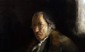G W F Hegel by Mitchellnolte