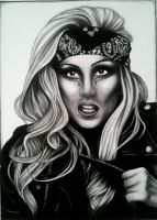 Lady Gaga by Punt-Art