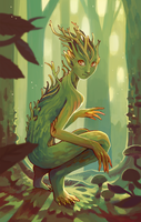Spirit of the forest by Yunipar
