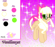 Reference Sheet :Vanillamyst: by TheGalacticKat